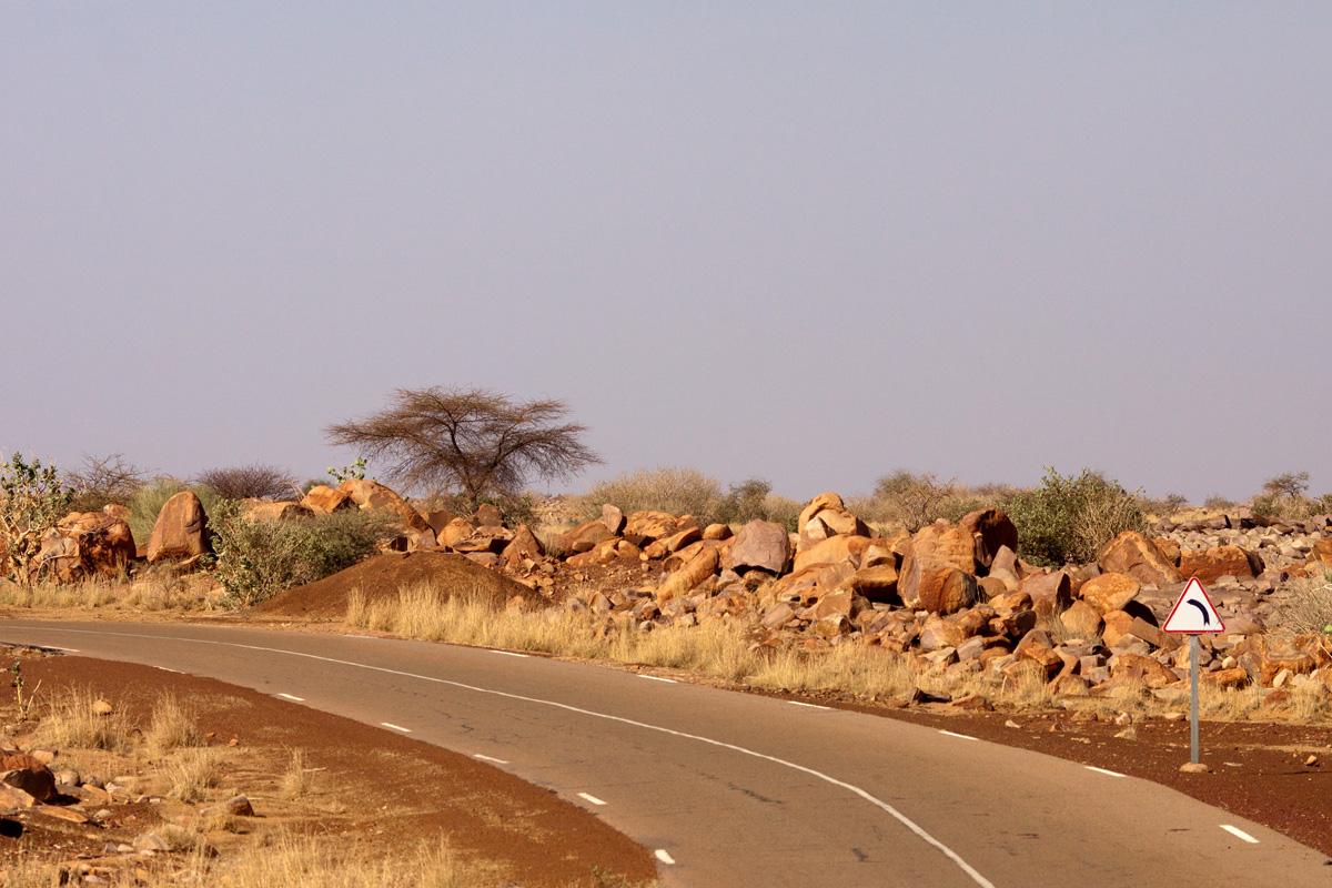 Дорога на Нуакшот.