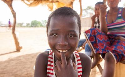 Девочка народа кассена